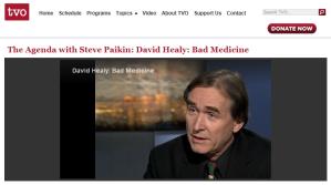 Dr David Healy - bad medicine