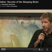 secrets of the sleeping brain - Matt Walker