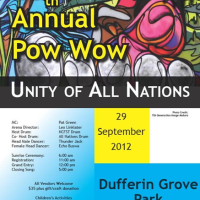 Pow Wow - Sat 29th Sep 2012