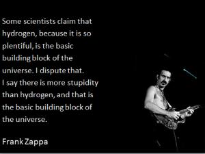 zappa - hydrogen-stupidity