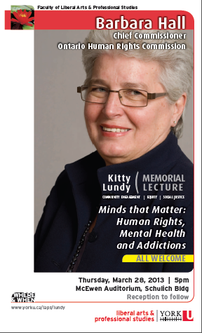 kitty lundy memorial lecture 2013