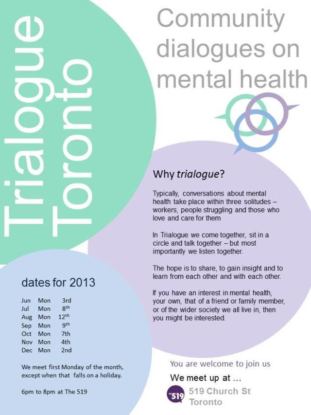 Toronto Trialogue 2013 -poster