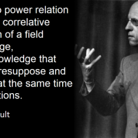 knowledge and power and lifecrap - Michel Foucault