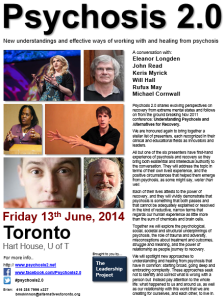 International Mental Health Conference - Toronto, June 2014