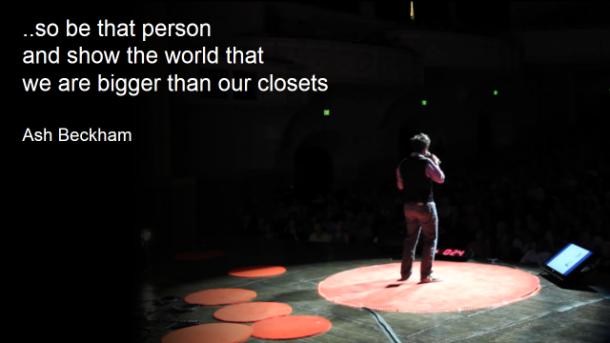 Ash Beckham - we are bigger than our closets