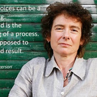 Hearing voices can be a good thing - Jeanette Winterson