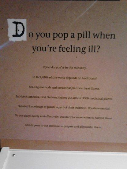 Do you pop a pill