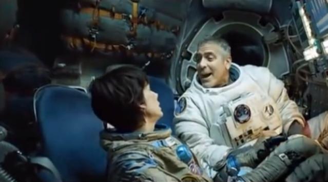 george Clooney in space