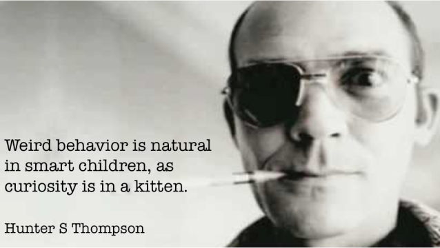 Hunter S Thompson - weird 2