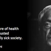 no measure of health...