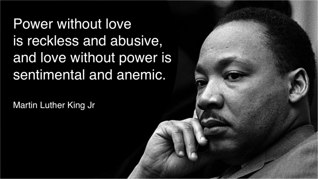 power without love MLK1