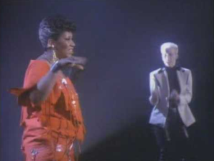 aretha eurythmics Sisters are doing it for themselves