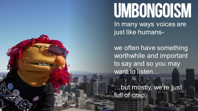 umbongoism#1 full of crap