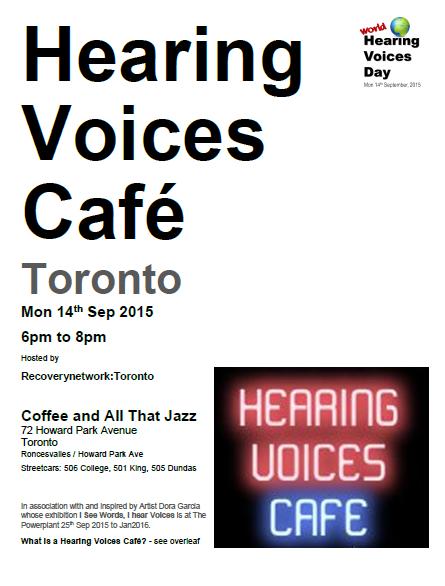 HV Cafe Toronto WHVD 2015 Poster