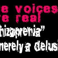 "the voices are real - ""schizophrenia"" is merely a delusion"