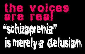schizophrenia is merely delusion