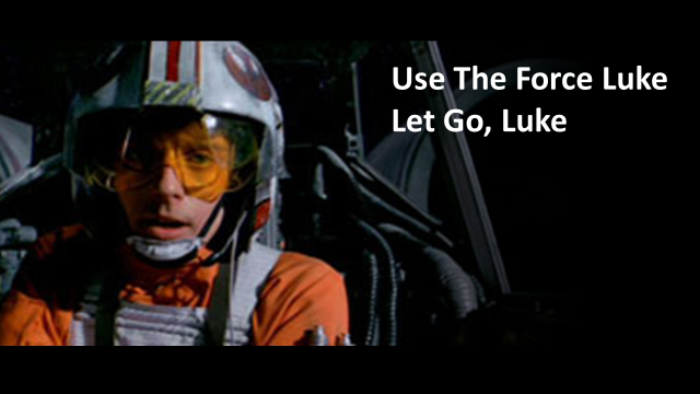 Use the force luke