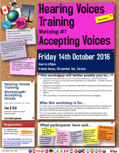 HV Trg Wkshp#1 Acccepting Voices Oct 2016