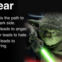 Fear Anger Hate - Yoda