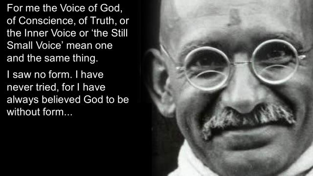 Gandhi the Voice1