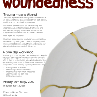 Workshop - Healing Our Woundedness - Fri 26th May 2017