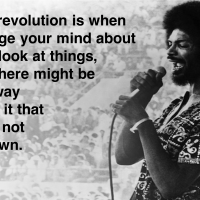 the first revolution... Gil Scott Heron