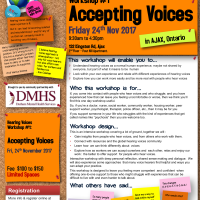 Workshop #1 Accepting Voices in Ajax - Fri Nov 24th 2017