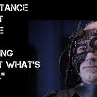 "Resistance is NOT futile: arguing about what's ""real"" is..."