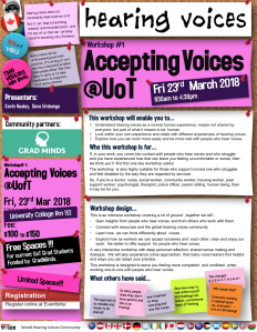 Accepting Voices @UofT 23Mar2018