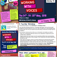 Workshop #2 Working With Voices: May 24 & 25th 2018