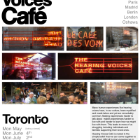 Hearing Voices Cafe Toronto - Summer 2018