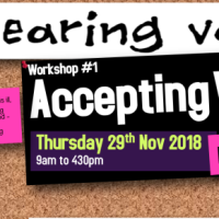 Workshop#1: Accepting Voices - Thu 29th Nov 2018