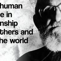 To be human is to be in relationship...