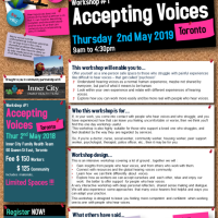 Hearing Voices Workshop #1 Accepting Voices - Thu, 02 May, 2019