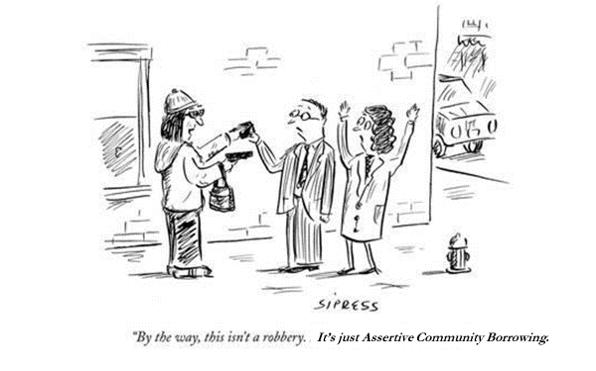 Assertive Community Borrowing