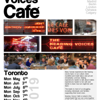 Hearing Voices Cafe - Toronto 2019