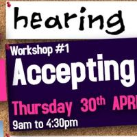Hearing Voices Workshop #1 Accepting Voices - Thu 30th April 2020