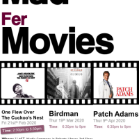 Mad Fer Movies - Film Series 2020