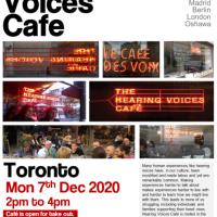 Hearing Voices Cafe - Mon 7th DEC 2020